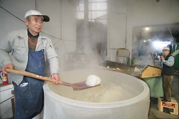 Himonoya_sake_steamed_rice